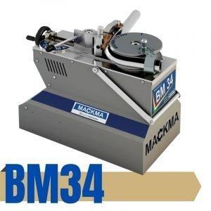 BM34 Dobladora sin mandril